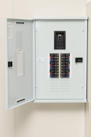 Main circuit box breaker in factory