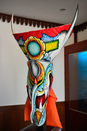 ghost mask: Ghost mask, the belief of sacred festival in Loei, North East Thailand