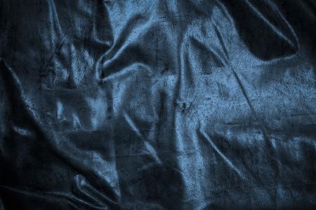 Blue crease canvas Foto de archivo