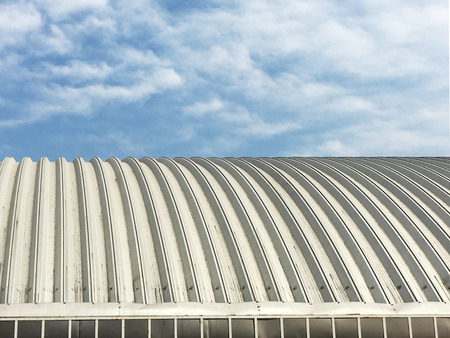 roof, sky, construction, background, blue, asphalt, metal, modern, rooftop, home, house, sheet, pattern, architecture, structure, exterior, new, design, tile, texture, style, commercial, detail, material, beautiful, steel, view, building, cloud