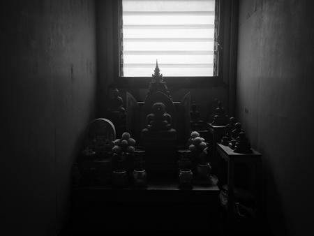 Buddha statue room
