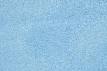 Blue color on cement wall