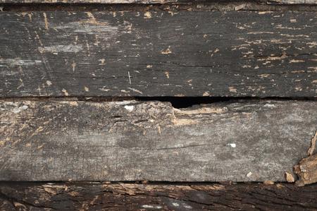 Old decay wood floor. Foto de archivo