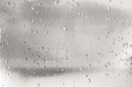 Water drop on stainless steel texture Foto de archivo