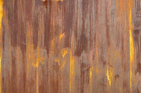 corrosion: metal sheet corrosion