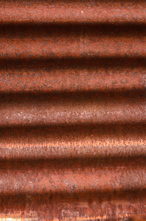 corrosion: metal sheet corrosion because to prolonged use