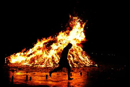 dogma: Traditional Religious Fire Run in Asia