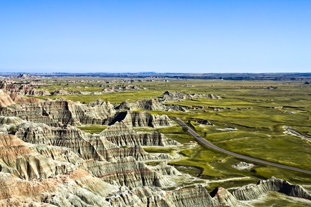Landscape photo of Badlands National Park photo