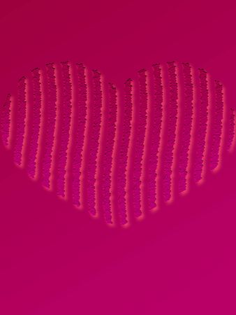 pink ribbons: Valentine Heart Love background