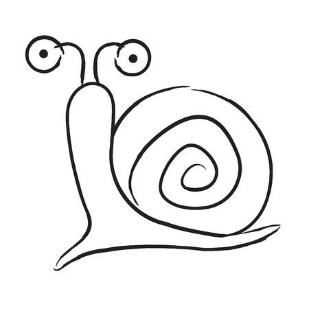 slowness: slime cartoon silhouette