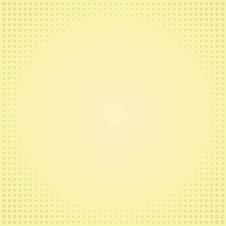 vectorial: halftone gold background Illustration