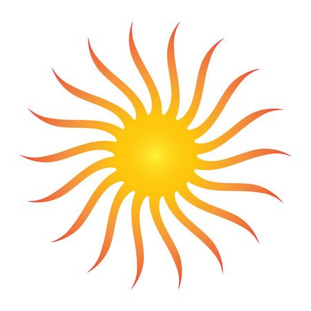 abstact: abstact Sun logo vector illustration Illustration