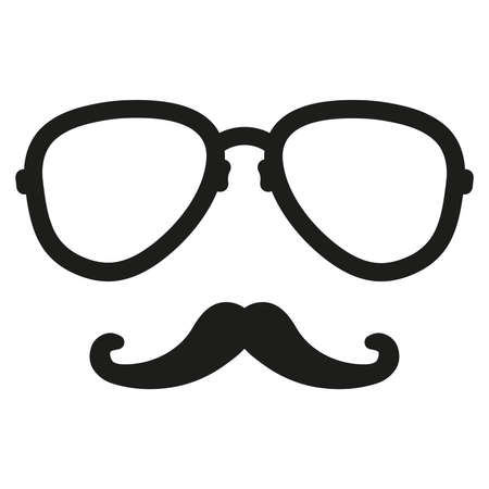 aviation nerd glasses and mustaches