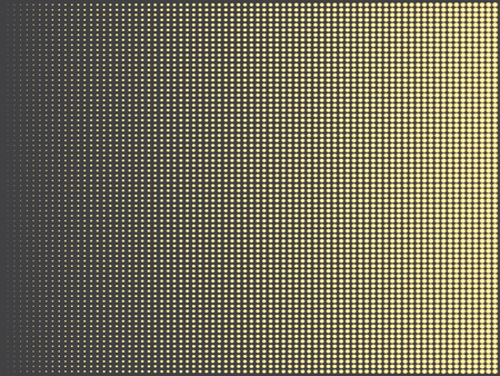 doctoral: Gold abstract halftone doted rectangle vector background