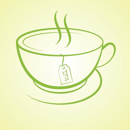 hot cup: hot tea cup beverage drink icon