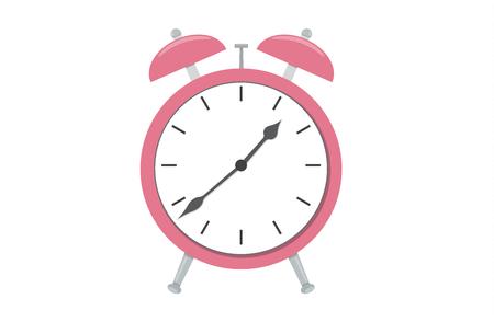 Cartoon Alarm clock icon vector isolated illustration Çizim