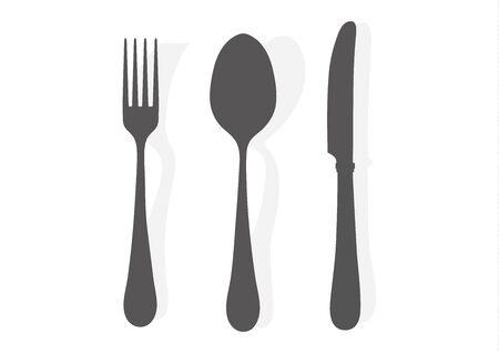 Kitchen tool silhouette black icon illustration.