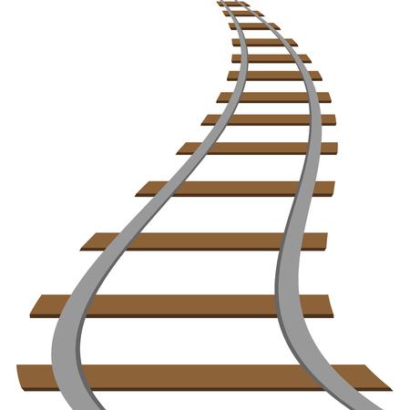 locomotive railroad track rail transport background transit route illustration