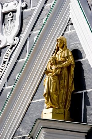 statuary: the statuary of christian saint,