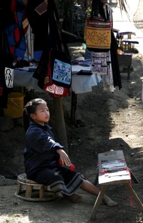 lao: Lao enfants dans l'action � Loa Village, lao est un pays � AEC. �ditoriale