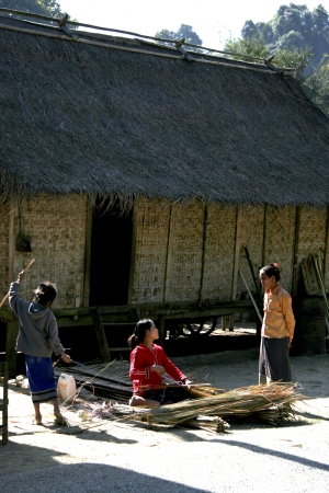 lao: Lao en action style de vie, simple, agr�able, et facilement ?