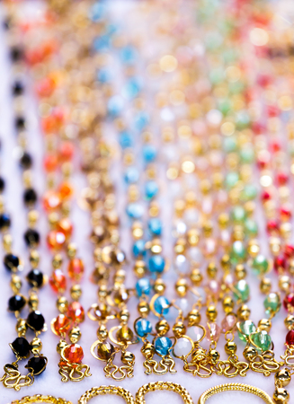 chaplet: Jewelry  with pendant,chaplet,necklace, Gem fashion dazzling display.