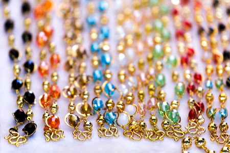dazzling: Jewelry  with pendant,chaplet,necklace, Gem fashion dazzling display.