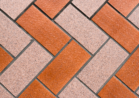 tiling: Tile block pattern for footpath tiling or house quarry tile.