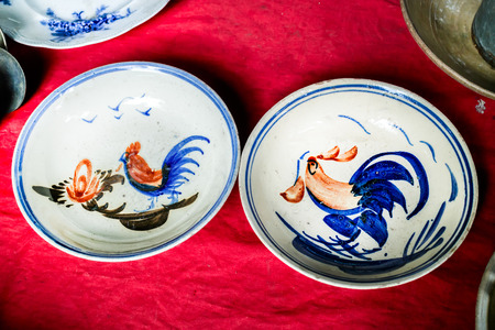The antique ceramic sold in antique store that claim are ancient chinese porcelain pottery.