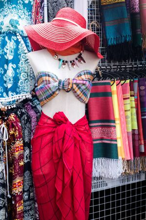 Pra Too Namm-Bangkok,Thailand-May 30, 2017:The famous center fashion at Platinum and Pra Too Namm in Bangkok have a lot of tourist but after February 2020 when Covid-19 outbreak there have a few tourist.