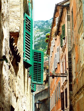 Kotor old town photo