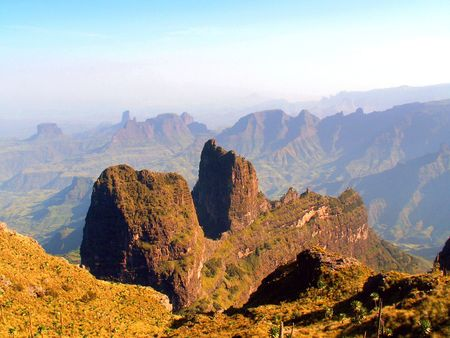 Simien National Park, Ethiopia Stock Photo - 4892201