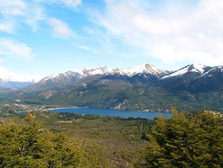 nahuel huapi: View on the lake Nahuel Huapi, Bariloche, Argentina