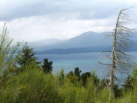 nahuel huapi: View on the lake Nahuel Huapi near Bariloche, Argentina