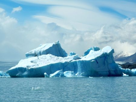 glaciares: Big iceberg in Los Glaciares National Park, Argentina Stock Photo