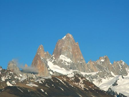 fitz:  Mount Fitz Roy in southern Argentina