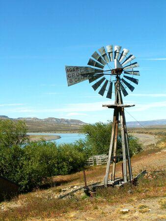 electricity generator: Wind electricity generator in Argentinian interior