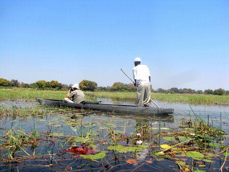 Okavango Delta: Okavango Delta in northern Botswana
