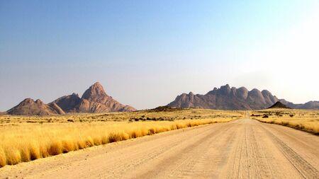 spitzkoppe: Spitzkoppe and Klein Spitzkoppe mountains, Namibia