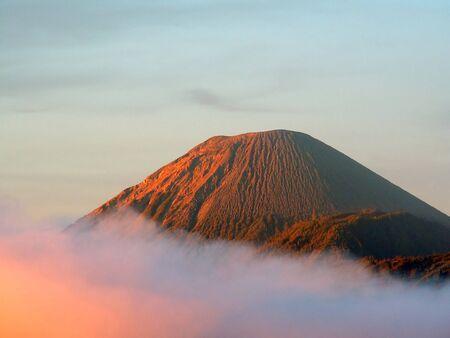 tengger: Volcano Semeru in Tengger Caldera, Java, Indonesia