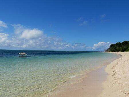 Tropical beach at Green Island in Australia