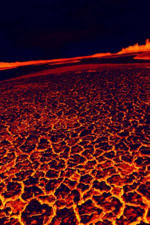 volcanic: Convulsion of nature Stock Photo