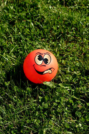squint: Real crazy ball on the grass
