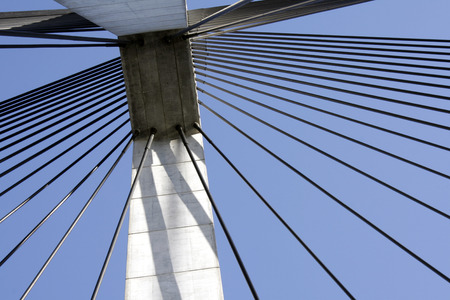Anzac Bridge Pylon, Sydney, Australia Stock Photo - 1463577
