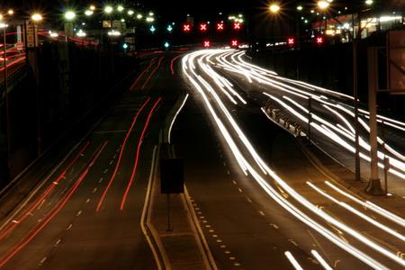 nightime: Strada di notte, Sydney, Australia