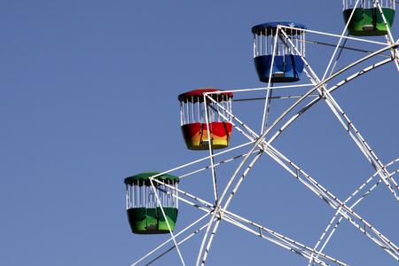 ferriswheel: Ruota a grande Luna Park, Sydney, in Australia,  Archivio Fotografico