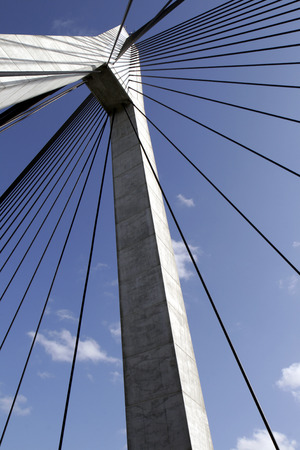 Anzac Bridge Pylon, Sydney, Australia Stock Photo - 1694287