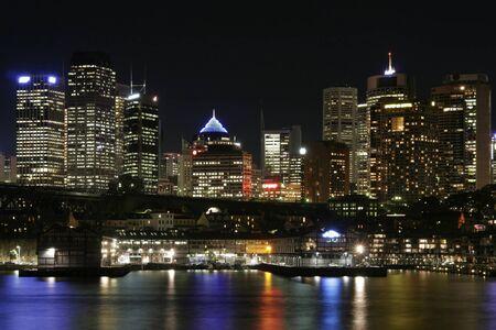lake district: Sydney City At Night, Australia