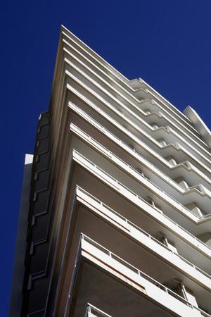 resident: Triangle Balconies, Urban Apartment Building, Sydney, Australia