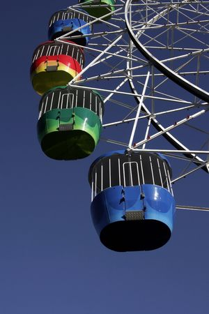 ferriswheel: Grande Ruota Al Luna Park, Sydney, Australia